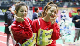 Seulgi and Yeri at Idol Star