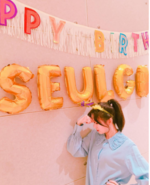 Seulgi on her Birthday