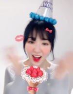 Wendy on her birthday 2