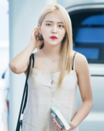 Yeri at the airport