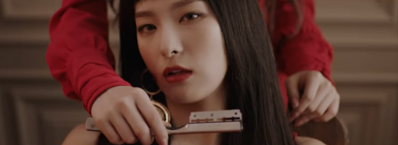 Beautiful Red Velvet Peek A Boo MV 12.PNG Great Pictures