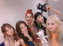 Red Velvet backstage SBS Inkigayo Red Flavor 5th Win