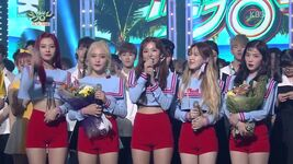 Red Velvet KBS Music Bank Winning Speech 170721