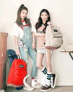 Irene and Joy CéCi 2017 2