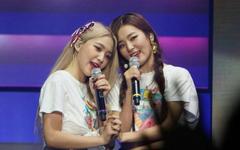 Yeri and Seulgi Red Velvet's first concert Red Room