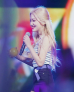 Yeri at Singapore Music Bank Tour
