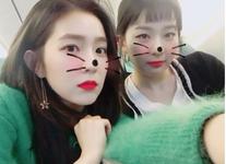 Irene and Seulgi IG Update 231117