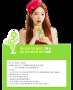 Red Velvet Summer Magic Joy Drink Teaser