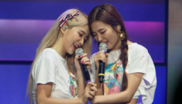 Yeri and Seulgi Red Velvet's first concert Red Room 2