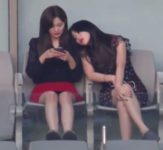 Yeri and Seulgi at the Dream Concert