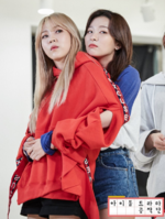Seulgi with MAMAMOO Moon Byul IDOT