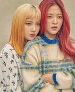 Joy and Yeri Russian Roulette Era Photoshoot