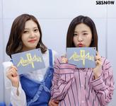 Seulgi and Joy SBS Insta Update