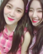 Irene and Yeri IG Update 090917