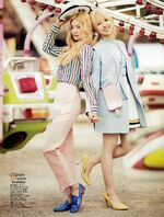 Seulgi and Wendy CéCi Thailand Magazine May