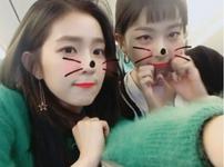 Irene and Seulgi IG Update 231117 2