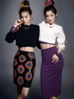 Seulgi and Irene for Harpers Bazaar Magazine