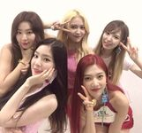 Red Velvet Red Flavor Show Champion backstage