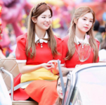 Irene and Seulgi at Everland Park for MBC