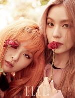 Irene and Seulgi for Elle Korea October 2016