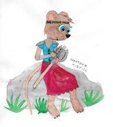 Dewrose watercolor