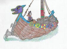 Dagru's ship