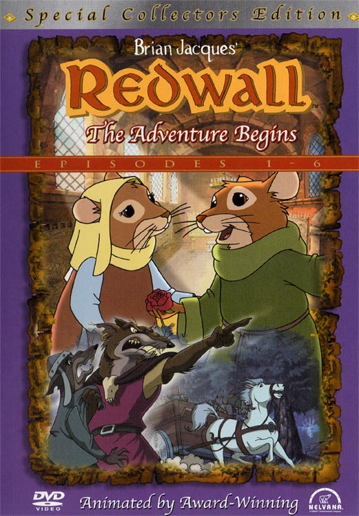 Book Cover Series Wiki : Redwall the adventure begins wiki fandom