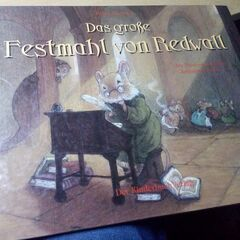 German The Great Redwall Feast Hardcover