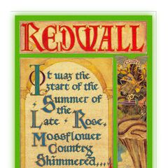 <i>Redwall</i> front cover