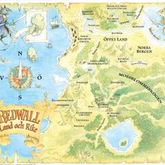 Swedish <i>Redwall</i> map