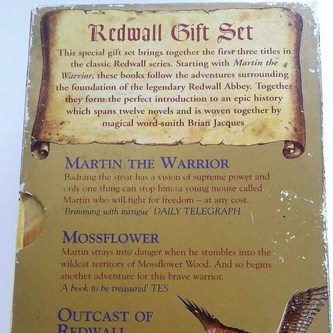 <i>Redwall Gift Set</i>, back