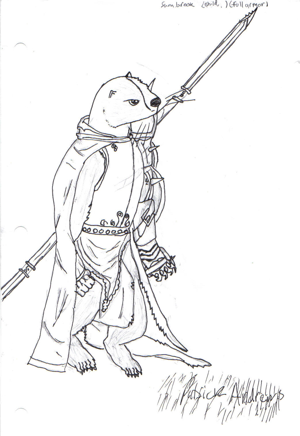 Image Sambrook Child Jpg Redwall Wiki Fandom Redwall Coloring Pages