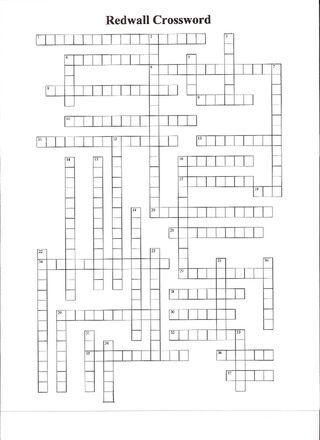 Redwall Crossword