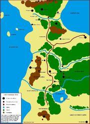 Redwall-map