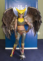 Kyra Wulfgar- Hawkgirl from Injustice