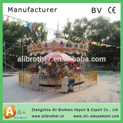 Luxury Outdoor Playground amusement park rides carousel
