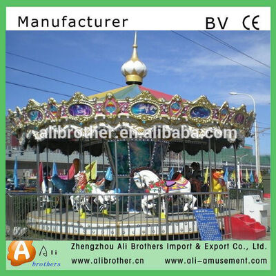 Interesting Amusement park rides amusement park carousel