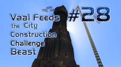 Minecraft FTB - City Construction Challenge - S2 - Episode 28 - The Black Tower