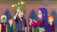 Regal Academy Ling Ling IronFan and Travis Beast with Circling Stars