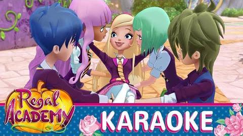 Regal Academy Sono qui KARAOKE