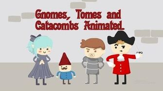 Gnomes, Tomes & Catacombs Animated - The Secret button ft