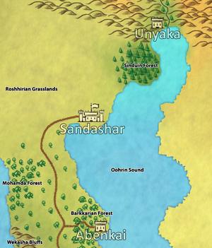 SandasharMap