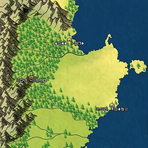 Salt Mine Map
