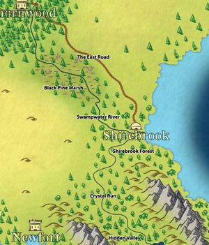 ShirebrookMap
