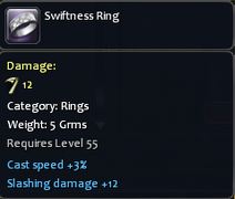 Swiftnessring