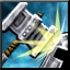 Brutal Impacts Power Icon
