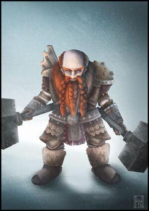 CA Regnum Dwarf.