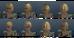 Woodelf female hairs