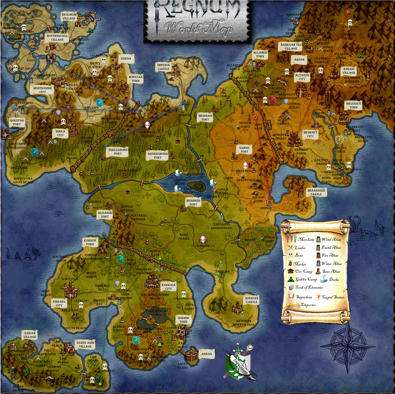 Regnum online wikiworld map regnum online wiki fandom powered the regnum world map rwm big gumiabroncs Choice Image
