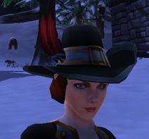 Renaissance Hat female dwarf model